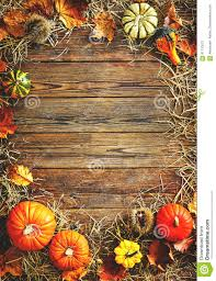 harvest or thanksgiving background with gourds and straw stock