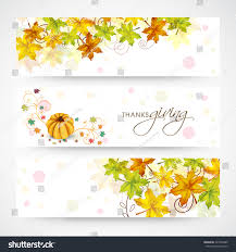 website header banner design happy thanksgiving stock vector