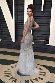 Vanity Fair Oscar Party Emily Ratajkowski At 2017 Vanity Fair Oscar Party In Beverly Hills