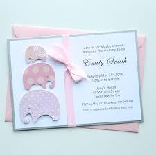 handmade baby shower invitation baby shower invitations