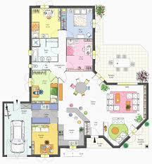 plan maison 3 chambres plain pied garage plan de maison plain pied 3 chambres inspirant plan maison plain