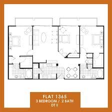 floor plans of the flats at avalon park dtii in orlando fl