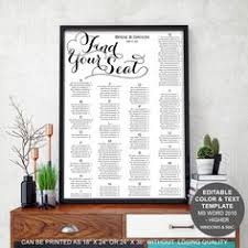 save budget on your wedding with this easy to use seating chart