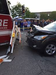 car crashes friday night concert