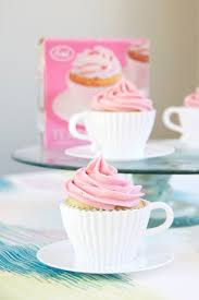 Cupcake Canisters For Kitchen Bon Appe Tea Hibiscus Tea And Tangerine Cupcakes With White