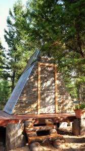 building an a frame cabin tiny a frame cabin took 3 weeks to build and cost only 700 tiny
