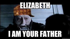 I Am Your Father Meme - elizabeth i am your father darth vader quickmeme