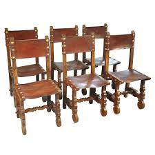 dining chairs impressive 6 leather dining chairs pictures 6