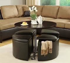 Extra Large Storage Ottoman by Coffee Table Round Wood Tables With Storage 2016 Large Pedestal So