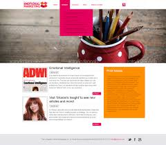 web design home based business upmarket playful web design for the livingston group for