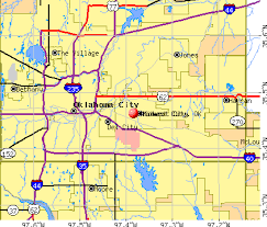 okc zip code map midwest city zip code map zip code map