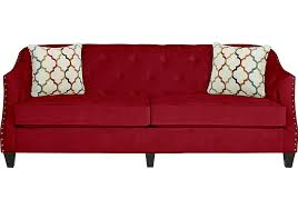 Rooms To Go Sleeper Loveseat Monaco Court Scarlet Sofa Isofa