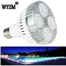 12v Led Pool Light 120v 12v 35w Color Change Led Pool Light Bulb For Pentair Or