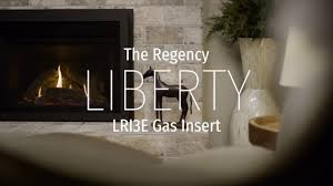 regency liberty lri3e small gas insert youtube