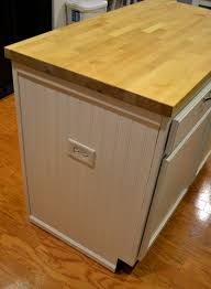 mission style kitchen island kitchen island makeover