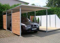 Car Port Construction Carport With Deck Above In Front Of The Garage Perfect For The