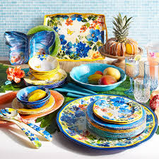 thanksgiving melamine plates butterfly floral melamine dinnerware pier 1 imports