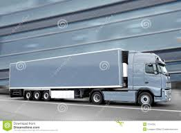 semi truck gray truck stock photo image 7724800