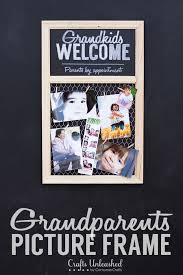 gifts for grandparents photo frame