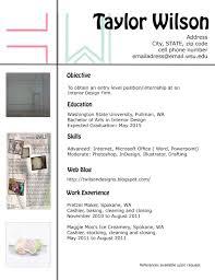 Interior Assistant Clean Cv Resume By Estartshop On Creative Market Design Interior