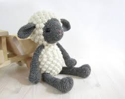amigurumi sheep crocheted lamb stuffed toy animal soft toy sheep