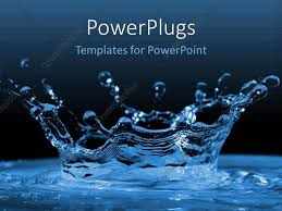 Water Powerpoint Templates by Powerpoint Template Water Ripples And Water Drops Splashing