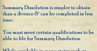 do you know what summary dissolution is legal tips pinterest