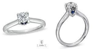 Vera Wang Wedding Rings by Engagement Ring Bling Vera Wang U0027s Love Collection Behind The Gown