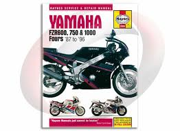 1987 1996 haynes yamaha fzr 600 750 1000 repair manual 2056 shop
