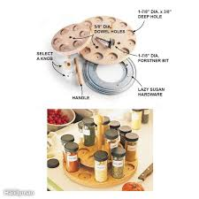 Kitchen Cabinet Lazy Susan Hardware The 25 Best Lazy Susan Spice Rack Ideas On Pinterest Door Spice