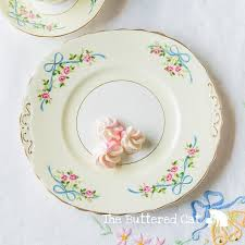vintage china with pink roses pretty vintage cake plate with blue ribbon bows pink roses
