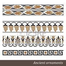 set of greece ornaments royalty free cliparts vectors and stock