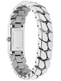 chain link bracelet watches images Gucci ladies rectangular small chain link bracelet watch ya147501 jpg