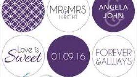 hershey kiss wedding stickers template stickers design