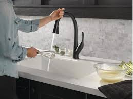 electronic kitchen faucets faucet com 9181t ar dst in arctic stainless by delta