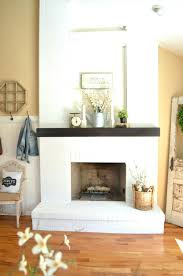 amazing cleaning brick fireplace front suzannawinter com