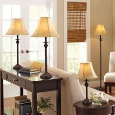 Vintage Bedroom Lighting by Better Homes And Gardens 4 Piece Lamp Set Dark Brown Finish