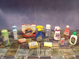 barbie doll cleaning products custom 1 6 scale realistic