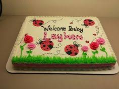 lady bug baby shower theme my cake design pinterest baby