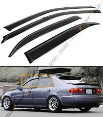 honda civic eg sedan jdm for 92 95 honda civic 4 dr sedan eg eh jdm smoke tinted window