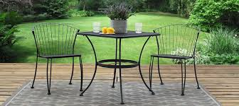 Wrought Iron Patio Chairs 3 Wrought Iron Patio Furniture Bistro Set By Woodard Direct
