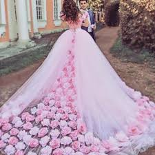 pink wedding dress flower wedding dresses pink wedding dress gown wedding