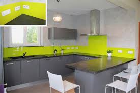 cuisine verte et grise inspirational cuisine vert anis et gris en