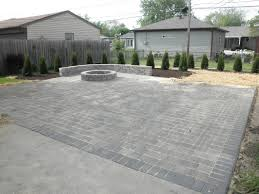 Build Paver Patio Home Depot Pit Insert Paver Patio With Plan Pavers How To