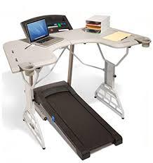 small under desk treadmill amazon com trekdesk treadmill desk walking and standing desk for