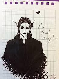 michael myers sketch by sweetrabbit art on deviantart