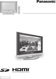 panasonic flat panel television tx 32lx500a user guide