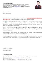 Sample Resume For Hotel Industry by Avishek Guha S Updated Resume 4 Mail 1 Hotel General Manager