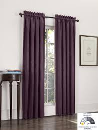 Purple Thermal Blackout Curtains by Amazon Com Sun Zero Cadence Velvet Texture Blackout Curtain Panel