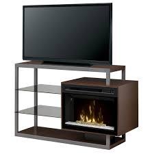 dimplex hadley electric fireplace media console u2013 ventless
